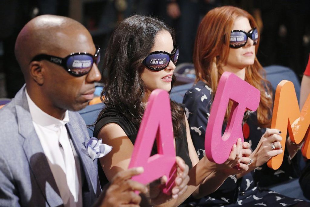 Celebrities play Four-Letter Words