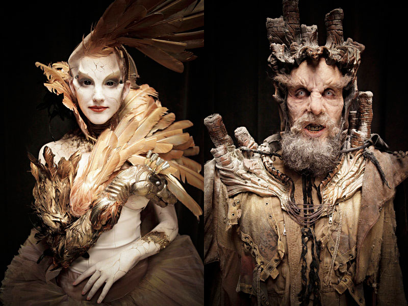Industrial Revolution-inspired dancers from Swan Lake
